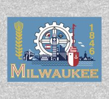 Milwaukee, Wisconsin Flag by cadellin