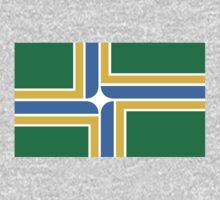 Portland Oregon Flag by cadellin
