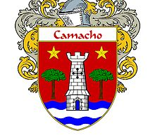 Camacho Coat of Arms/Family Crest by William Martin