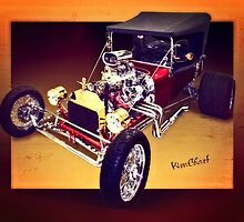 T Bucket Roadster and How You Can Have Your Own Hot Rod Art Print  ~:0) VivaChas! by ChasSinklier