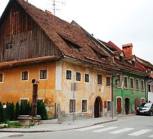 Historic Buildings in Skofja Loka 4 by jojobob