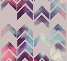 Chevron Dream (Mauve) by Beth Thompson