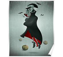 Halloween Vampire Poster