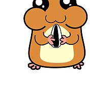 Cartoon Hamster by kwg2200