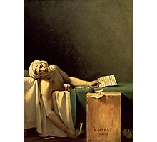 The Death of Marat, 1793 (oil on canvas) Photographic Print
