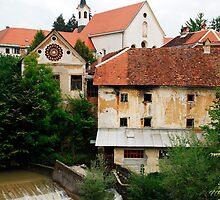 Skofja Loka River Front 1 by jojobob