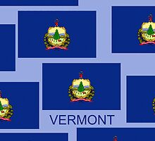 Smartphone Case - State Flag of Vermont IX by Mark Podger