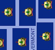 Smartphone Case - State Flag of Vermont XIII by Mark Podger
