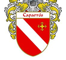 Caparros Coat of Arms/Family Crest by William Martin