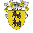 Cardenas Coat of Arms/Family Crest by William Martin