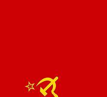 Smartphone Case - Flag of The Soviet Union (USSR) I by Mark Podger