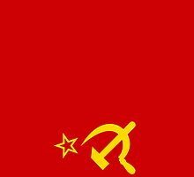 Smartphone Case - Flag of The Soviet Union (USSR) II by Mark Podger