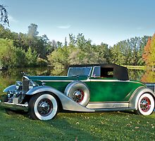 1933 Packard 1006 Convertible by DaveKoontz