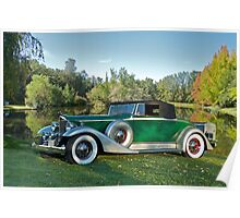 1933 Packard 1006 Convertible Poster