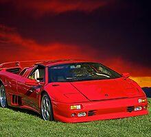1998 Lamborghini Diablo VT Roadster by DaveKoontz