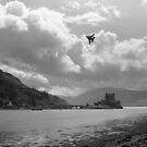 Tornado over Eilean Donan Castle, Scotland by Matthew Walters