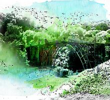 Ironbridge, Shropshire - World Heritage Site by Illustrated Planet