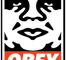 OBEY GIANT - André the Giant  by Mike Liberato