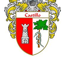 Castillo Coat of Arms/Family Crest by William Martin