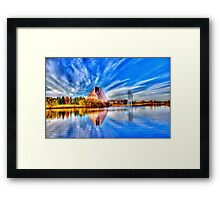This Photo is worth a Mint...(WRCM) Framed Print