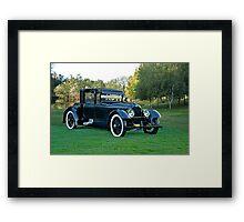 1921 Duesenberg A Bender Coupe II Framed Print