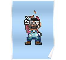Mario victory tetris Poster