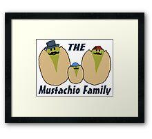 The Italian Mustachio Family Framed Print