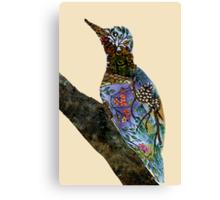 The Woodpecker Canvas Print