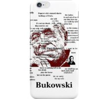 Charles Bukowski iPhone Case/Skin