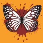 Blood Butterfly by Mark McClare Designs