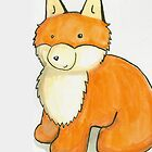 Monty Fox iPhone case! by MaryMcCrazy