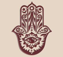 Hamsa - Hand of Fatima, protection symbol by nitty-gritty