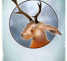 The Mythical Jackalope - Folk Lore ? by astralsid