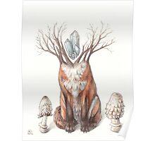 Crystal Fox Poster