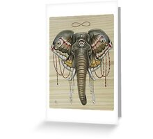 Flight of the Elephant Greeting Card