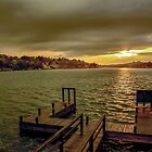 Lake Hamilton Sunset by Chris Ferrell