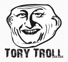TORY TROLL by Robin Brown
