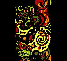 Funky Iphone case! by Pat-Pot  Designs