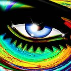 Psychedelic Eye Mesmerizing Look by BluedarkArt