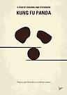 No227 My KUNG FU Panda minimal movie poster by Chungkong