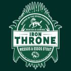 Iron throne - Wessos And Eros Stout - Winter Is Coming by Immortalized
