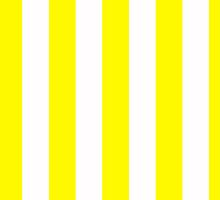 stripes yellow and white by cecko90