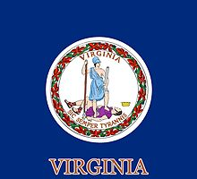 Smartphone Case - State Flag of Virginia V by Mark Podger