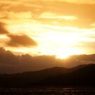 Highland Sunset over Loch Alsh by Richard Flint
