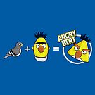 Angry Bert - Angry Birds Shirt by BootsBoots