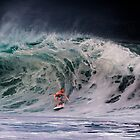 Pipeline Surfer 14 by Alex Preiss