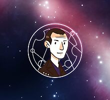 50th Anniversary 9th Doctor by nowaitwhat
