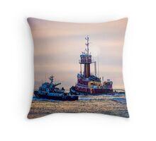 Redhook Harbor  Throw Pillow