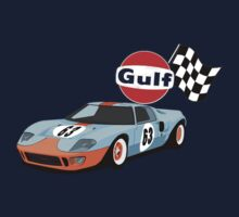 Ford gt40 gulf racing by Pieter Colignon