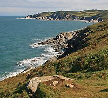 Rockham Bay & Bull Point, North Devon by RedHillDigital